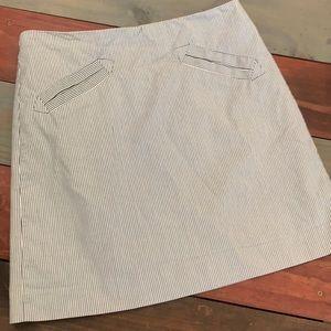 3 FOR $20 Grace Blue & White Thin Stripe Skirt 4